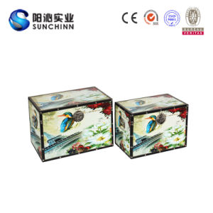 Special Design Wooden Storage Box for Storage