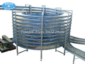 Spiral Cooler for Bread Toast and Hamburger Food Equipment pictures & photos