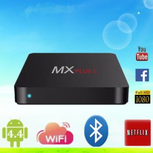 2016 Newest Mx Plus Quad Core Mx Plus II Smart TV Box Android 4.4 Mx Plus 2 Rk3229 TV Box pictures & photos