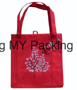 Competitive Price Recycle PP Non-Woven Shopping Bag pictures & photos