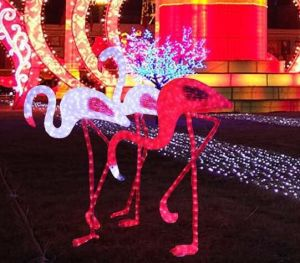 Waterproof Outdoor LED 3D Deer Motif Animal Christmas Light pictures & photos