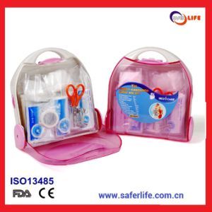 2015 Multicolor Physio Unique Travel Camping Emergency Portable Pink First Aid Kit Family Home First Aid Promotion Premiums Gift pictures & photos