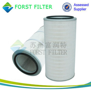 Forst Industrial Cellulose Micron Pleated Suction Air Filter pictures & photos