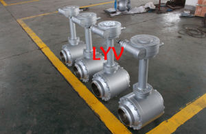 Weld End Bolted Ball Valve for Natural Gas pictures & photos