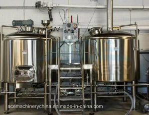 300L Stainless Steel Beer Equipment with Two Vessels Brewhouse (ACE-FJG-E6) pictures & photos