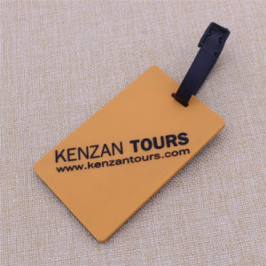 Supply Cheapest Soft PVC Luggage Tag Pomotion Gifts on Sale pictures & photos