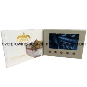 LCD Screen Video Promotional Brochures pictures & photos
