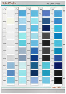 100% Polyester Dope Dyed Yarn (150d/48f SD NIM DTY) pictures & photos