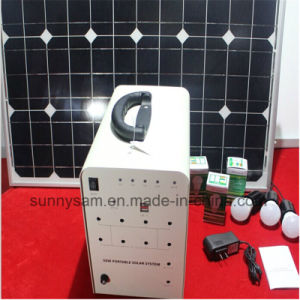 50W Home Solar Power Lighting System for Indoor or Camping pictures & photos