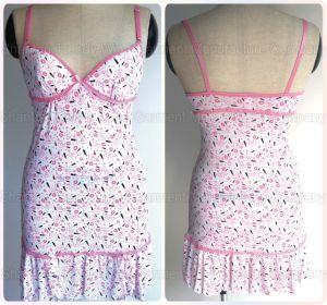 Printed Ladies Nightwear pictures & photos
