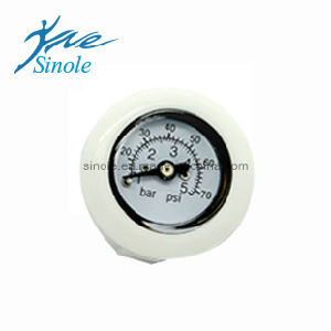 Dental Unit Spare Part Round Press Meter (17-17) pictures & photos