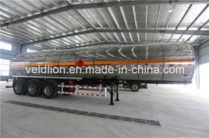Aluminum Material 42000L Oil Tank Semi Trailer pictures & photos