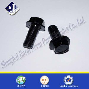 Ts16949 Flange Bolt with Blue Zinc Plated 10.9 pictures & photos