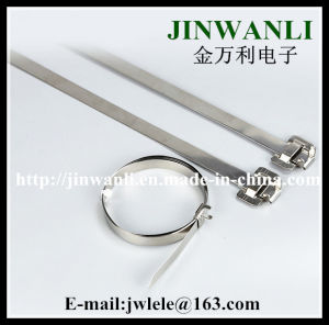 Releasable Stainless Steel Band Cable Ties UL CE RoHS Approved pictures & photos