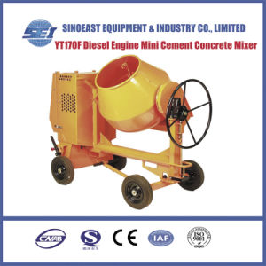 Yt178f Diesel Engine Mini Cement Concrete Mixer pictures & photos
