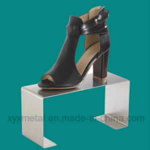 Store Stainless Steel Bag Shoe Show Metal Display Holder pictures & photos