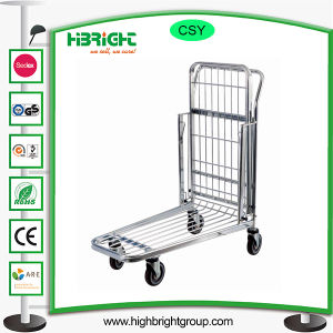 Double Baskets Warehouse Logistic Trolley Cart pictures & photos