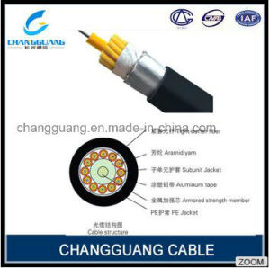 High Quality Factory Price Waterproof Pigtail Fiber Optic Cable Gja 2-12 Core Multi Mode Optical Fiber Cable pictures & photos