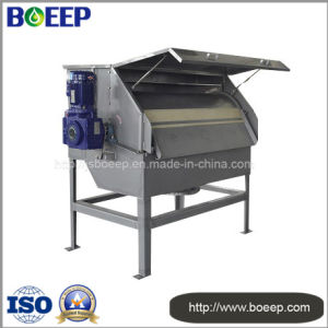 Leather Wastewater Solid Particle, Fibre and Suspended Removal Drum Filter Press pictures & photos