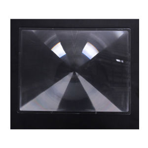 812*890 mm Curved Cross-Sections Fresnel Lenses for Solar Collectors pictures & photos