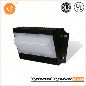 80W LED Wall Pack Dlc Listed Meanwell Driver Street Lighting