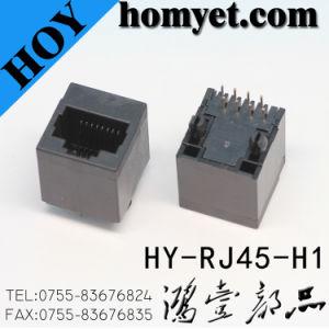 Professional Manufacturer RJ45 Female Connector/RJ45 Jack for Socket (HY-RJ45-H1) pictures & photos