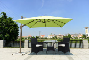 Factory Popular Trendy Style Big Size Outdoor Umbrellas and Parasol Wholesale Price pictures & photos