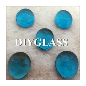 Sea Blue Round Glass pictures & photos