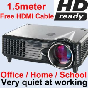CCC Certificate Mini Home Theatre 1500 Lumens LCD LED Projector pictures & photos