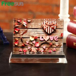 Freesub Sublimation Photo Printing Cube Crystals (BSJ-08B) pictures & photos