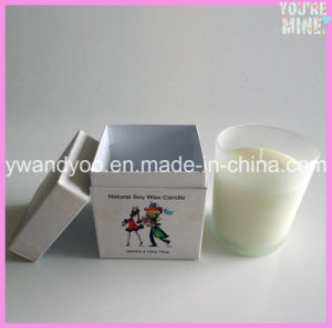 Colorful Luxury Soy Scented Gift Candle in Matched Glass pictures & photos