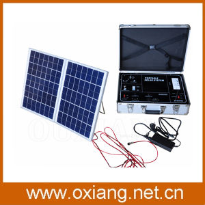 500W Portabel Mobile Solar Power Station Home Solar Electricity Generation System pictures & photos
