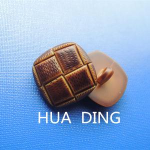 Fashion Tartan Design Hand Stitch Button for Garment (AF089) pictures & photos