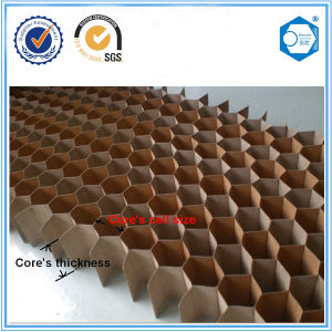 Suzhou Beecore Decoration Material Paper Honeycomb Core pictures & photos