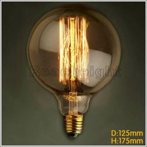 A19 110-240V 40W-60W Vintage Tungsten Edison Bulb pictures & photos