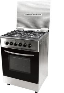 4 Burner Stainless Steel Free Standing Gas Oven pictures & photos