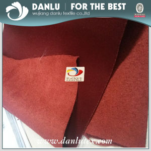 225D Single Wetf Faux Suede Fabric for Upholstery pictures & photos