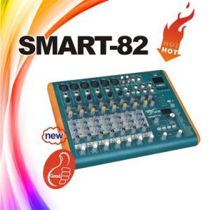 Smart-82 Mini Mixer, 8 Channels USB Audio Mixing Console pictures & photos