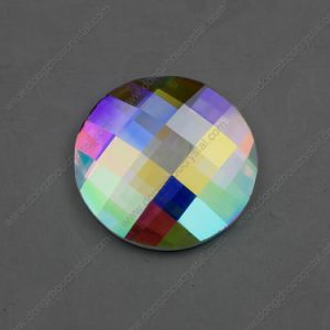 30mm 40mm Round Flat Back Glass Stones for Jewelry Decoration pictures & photos