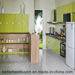 High Standard Europe Design High Gloss Kitchen Cabinet pictures & photos