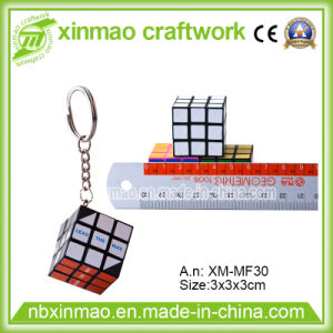 3cm Puzzle Cube with Keychain for Promo pictures & photos