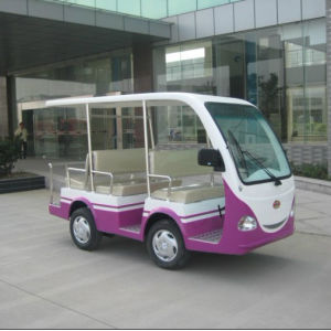 Hot Sale Electric Sightseeing Bus with Open Cargo pictures & photos