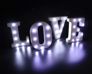 Love Bulb Letters, Vintage Marquee Letters pictures & photos