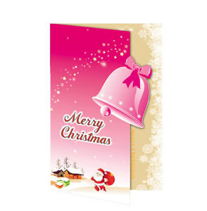 New Year Hot Sale Christmas Greeting Card pictures & photos