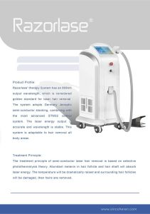 Diode Laser Hair Removal Permanent, 808nm Laser Depilation Beauty Machine pictures & photos