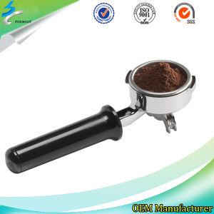 Highly Polished Precision Casting Stainless Steel Portafilter/Funnel for Coffee Maker pictures & photos