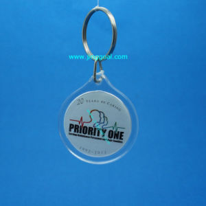 Plastic Key Tag pictures & photos