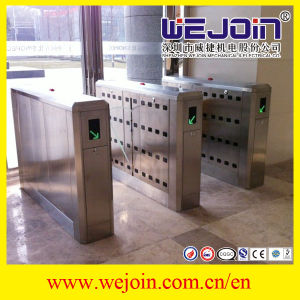 Speed Lane Security Entrance Stainless Steel Flap Barrier Gates Price Flap Barrier pictures & photos