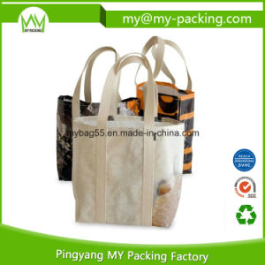 Eco Advertising BOPP Laminated PP Woven Promotional Bag pictures & photos