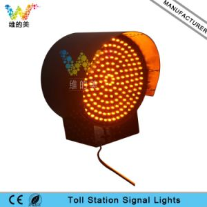 200mm Yellow Flashing Light Toll Station Traffic LED Warning Light pictures & photos